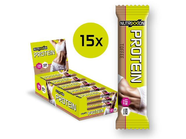 Nutrixxion Protein Bar Box 15 x 35g / MHD 30.09.2021, Toffee
